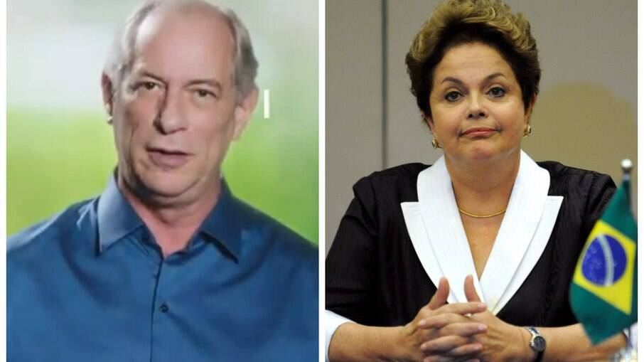 Ciro Gomes e Dilma Rousseff