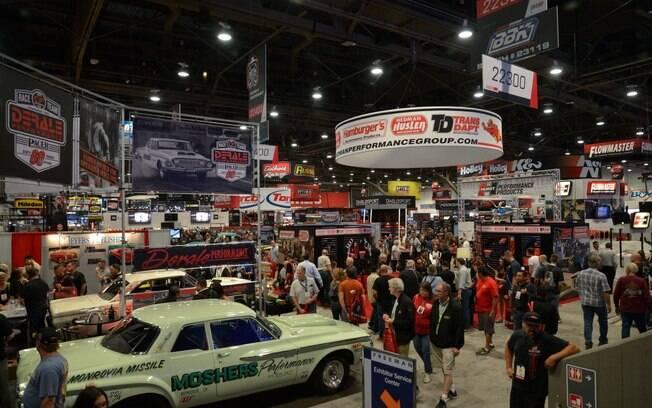 O SEMA Show, que acontece em Las Vegas, reúne entusiastas da área de customização, mobilidade e acessórios