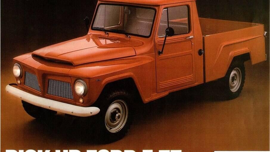 Em 1983, a última unidade do valente utilitário da era Willys, com versão 4x4, motorização a álcool de 4 cilindros (2300cc)