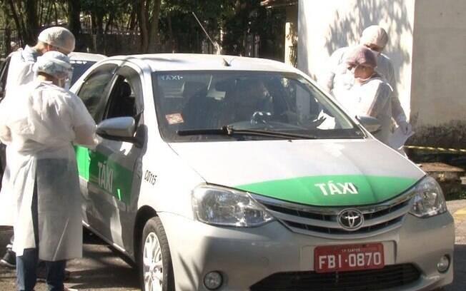 Nos dois dias de teste,34 taxistas tiveram resultados positivos (9,9% do total).