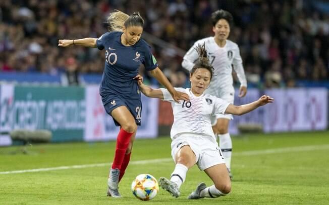 França goleia Coreia do Sul em primeiro jogo da Copa do Mundo Feminina