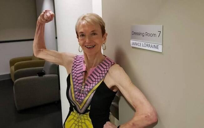 Fisiculturista de 75 anos acredita que seus treinos podem inspirar outras mulheres mais velhas a fazerem algo que gostam