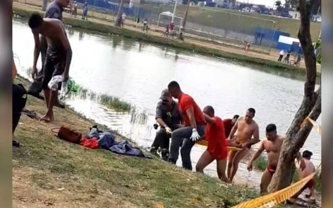 Adolescente de 14 anos morre afogado na lagoa de São Domingos.