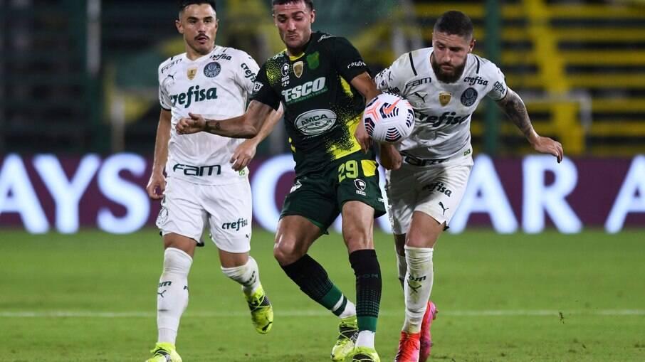 Palmeiras enfrenta o Defensa y Justicia pelo título da Recopa