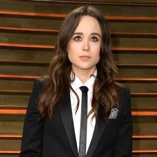 """No último mês de fevereiro, Ellen Page se assume gay: """"Estou cansada de me esconder"""""""