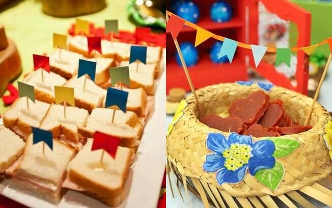 Decoração não precisa estar apenas em paredes e mesas e pode vir, também, nas comidas que vão ser servidas na festa