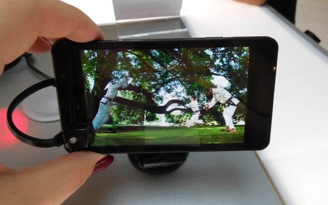 Optimus 3D Max, da LG: processador mais rápido traz mais realismo a vídeos em 3D, sem uso de óculos