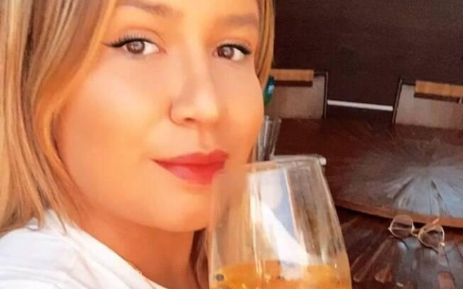 A artista falou sobre seu processo de perda de peso no seu Instagram