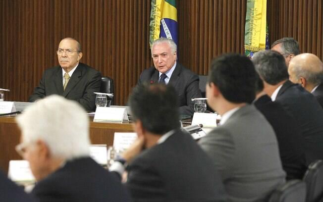 Presidente Michel Temer fez sua primeira reunião com nova equipe ministerial no Palácio do Planalto