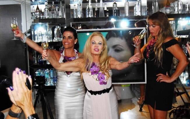Lydia Sayeg, Brunete Fraccaroli e Débora Rodrigues não sabem ainda se haverá uma segunda temporada do programa
