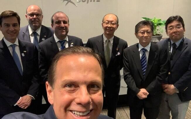 Governador de São Paulo passou a semana no Japão com a intenção de atrair investimentos para São Paulo
