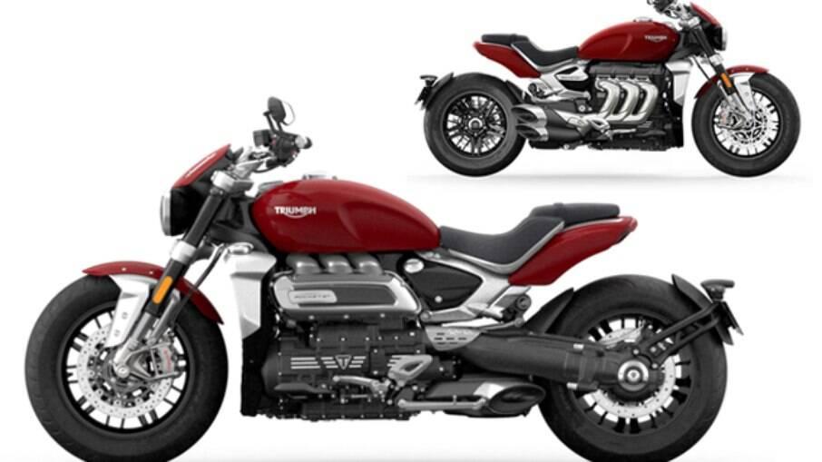 ...E como ficou a nova Triumph Rocket 3 depois das mudanças, o que deu um aspecto mais arrojado à moto