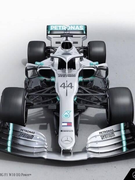 W10, o novo carro da Mercedes para temporada 2019 da Fórmula 1
