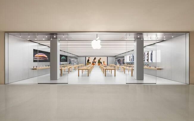 Apple anunciou reabertura de um quinto de suas lojas nos Estados Unidos nesta semana