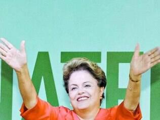 A presidente Dilma Rousseff gravou vídeo para a estreia do seu portal