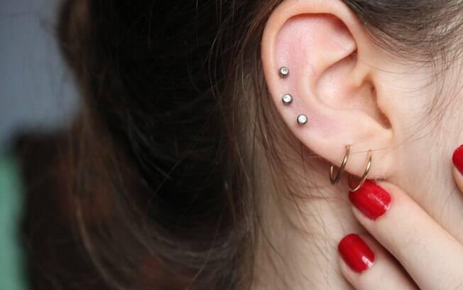 Piercing precisa ser bem cuidado ou pode trazer sérios problemas