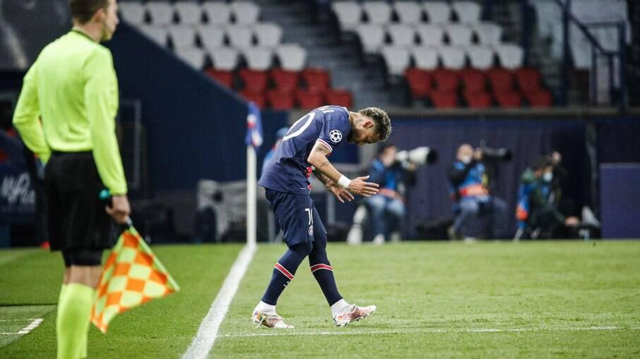 Neymar falou sobre eliminação do PSG na Champions