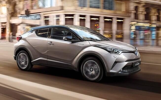 Toyota C-HR esteve nos planos da Toyota entre os carros que viriam ao Brasil, mas a fabricante acabou desistindo