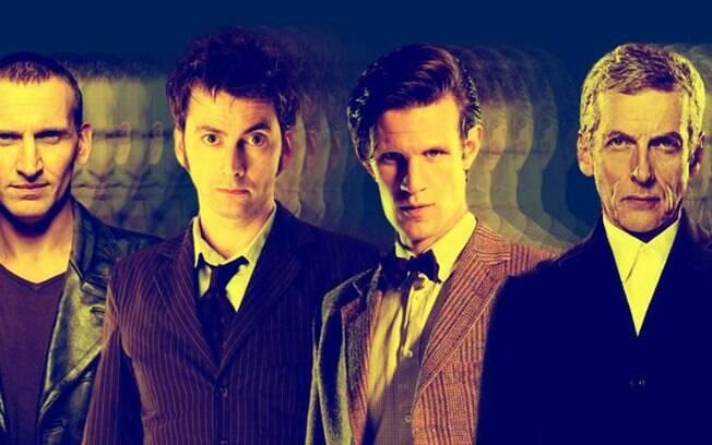 Estão disponíveis 9 temporadas de Doctor Who na plataforma de Séries & Filmes do IG