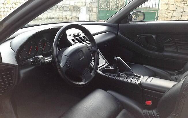 Honda NSX de Senna conta com bancos de couro, ar condicionado e câmbio manual