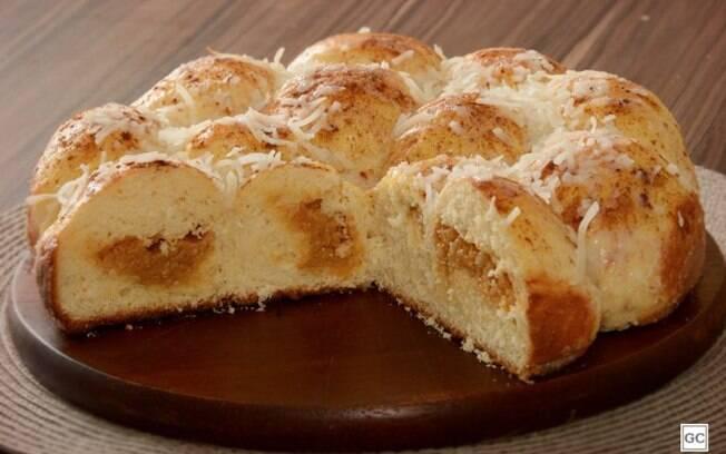Rosca de coco com doce de leite: receita prática e saborosa