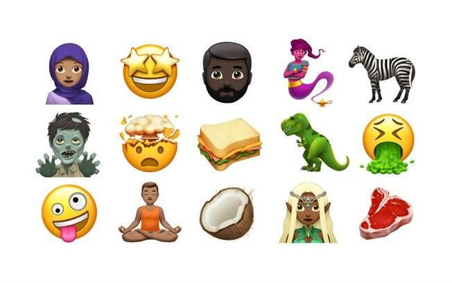 Apple apresentou novidades após atualização feita pela Unicode, entidade responsável por padronizar o emoji