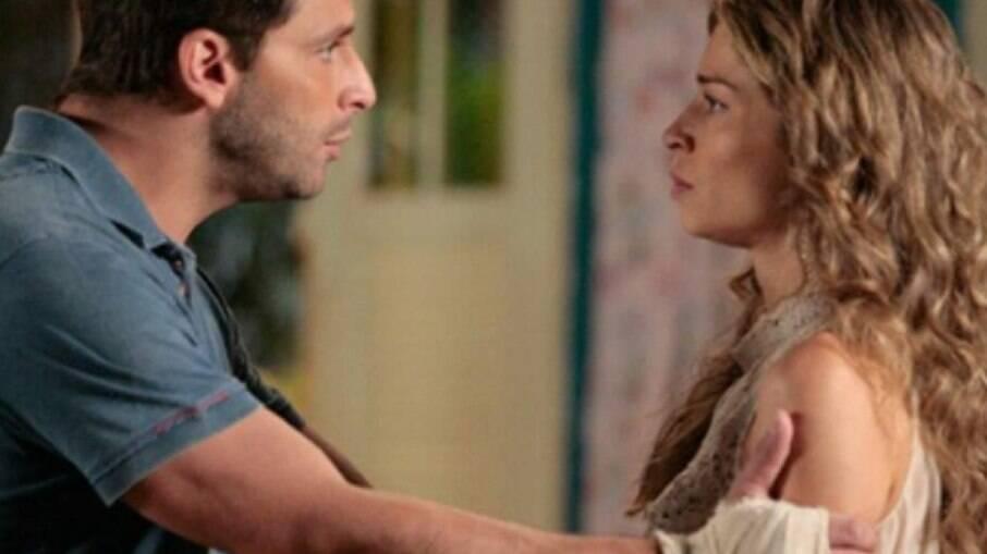 Ester e Cassiano tentarão convencer Hélio a confessar que Dionísio foi mandante dos crimes contra Samuel