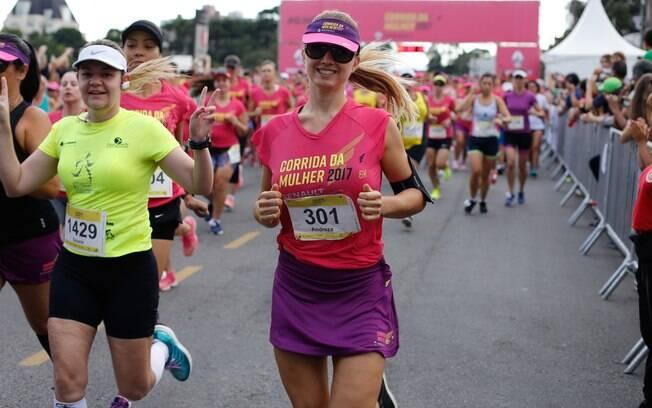 A Corrida da Mulher, em Curitiba, está em sua 19ª edição