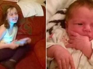 Trinity Culle ajudou mãe a dar a luz à irmã enquanto a família esperava uma ambulância