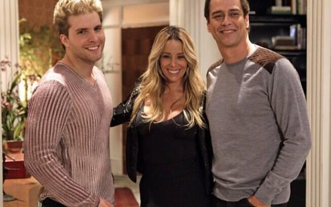 Thiago Fragoso vai contracenar com Danielle Winits e Marcello Antony em 'Amor à Vida'