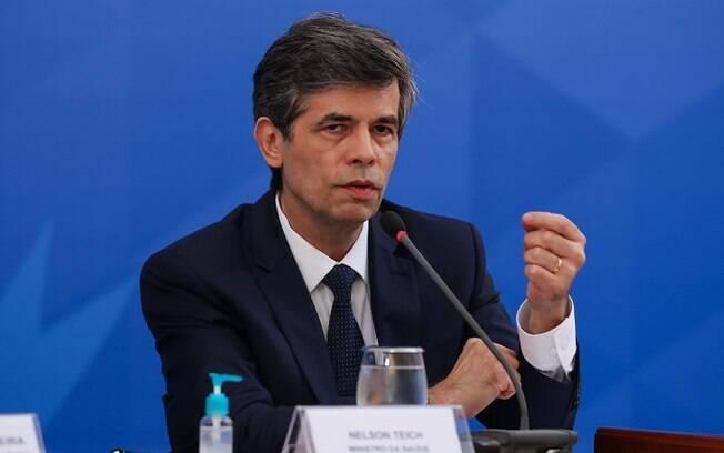 Ministro da Saúde Nelson Teich