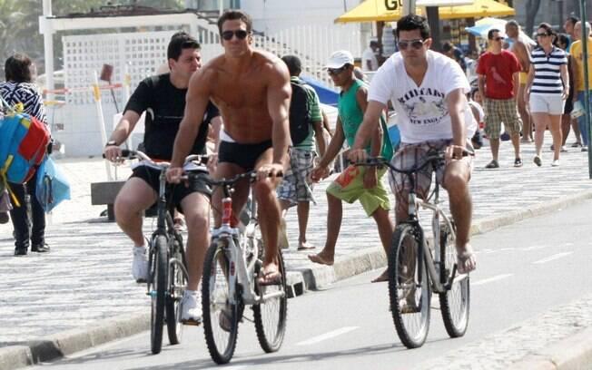 Carlos Machado: atleta dentro e fora das telinhas