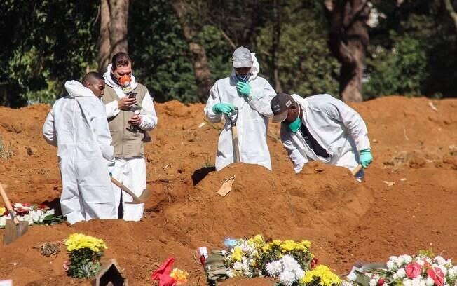 Pandemia continua fora de controle no segundo país mais afetado pela Covid-19