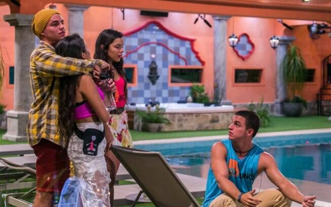 Antonio, Manoel, Emilly e Mayla