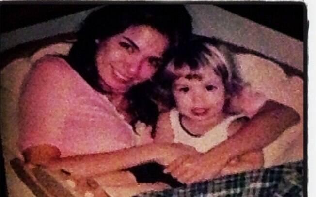 Luciana Gimenez declara o amor pelo filho Lucas Jagger postando foto dele quando pequeno