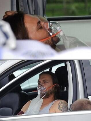 O cantor deixou as gravações do programa direto para o hospital