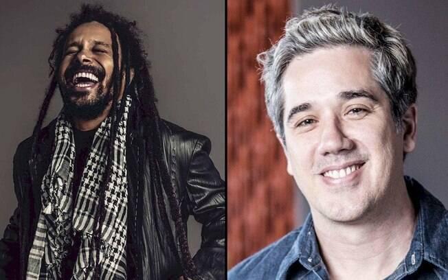 Marcelo Falcão e Rogério Flausino apresentam live neste sábado
