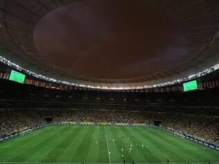 Mané Garrincha recebeu a estreia da seleção brasileira na Copa das Confederações