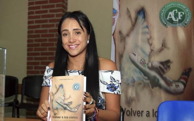 Ximena Suarez é uma das seis pessoas que sobreviveram à queda do avião da Chapecoense