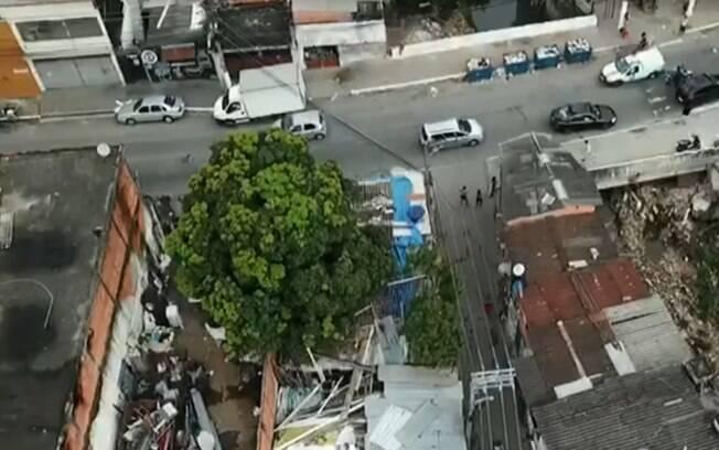 Ação da polícia usou pela primeira vez drones para mapear e localizar traficantes em São Paulo