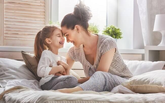 Além de amar os filhos, a mãe precisa fazer com que eles saibam se sintam desejados