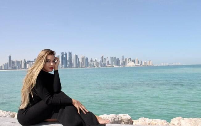 Jeniffer Setti conta quais foram os lugares que mais gostou de conhecer no Qatar