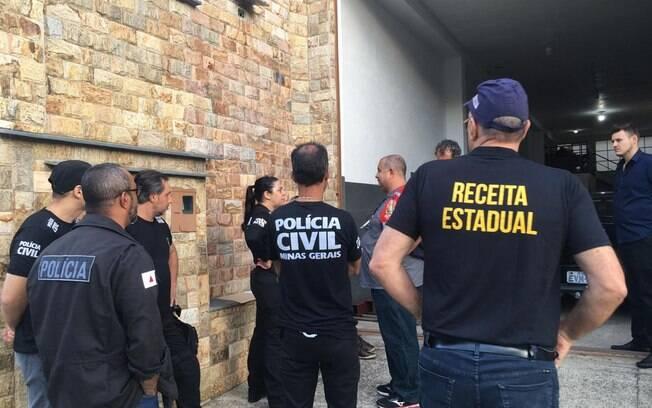 Operação contra sonegação fiscal reúne Receitas estaduais e Federal, polícias Civil e Militar e o Ministério Público
