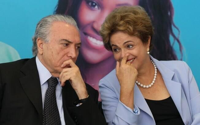 Relação de Dilma Rousseff com Michel Temer ficou balançada após carta enviada pelo vice