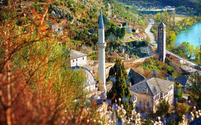 A região da Herzegovina reúne trilhas por cidades medievais e está em 4º lugar na lista de melhores destinos da Europa