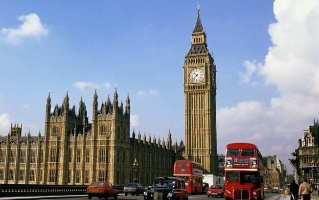 Big Ben é um dos mais famosos cartões-postais de Londres