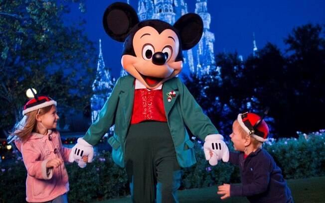 Visitar os parque da Disney é o sonho de muita gente
