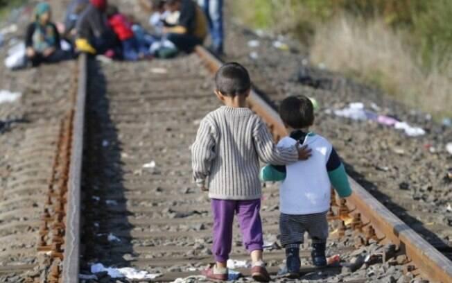 Os protestos contra Donald Trump foram motivados pelas políticas migratórias aplicadas nas fronteiras dos EUA