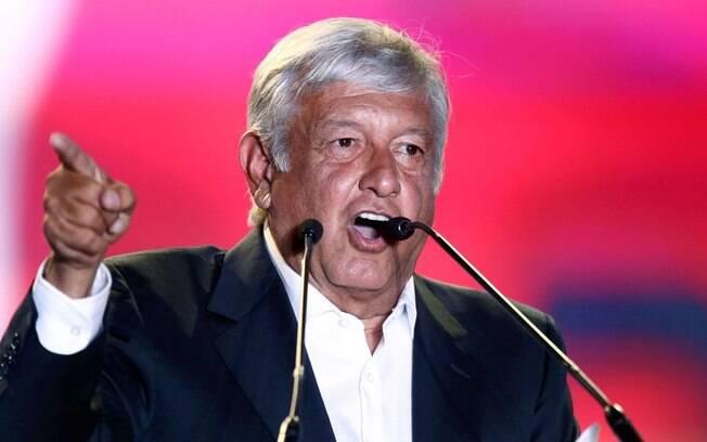Andrés Manuel López Obrador, do Movimento Regeneração Nacional (Morena) foi eleito o novo presidente do México