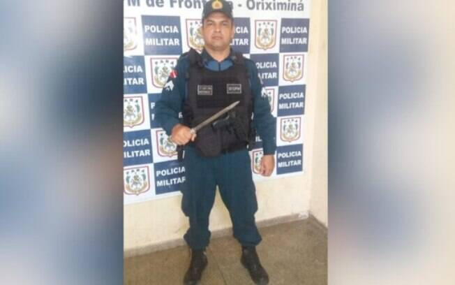PM com arma do crime